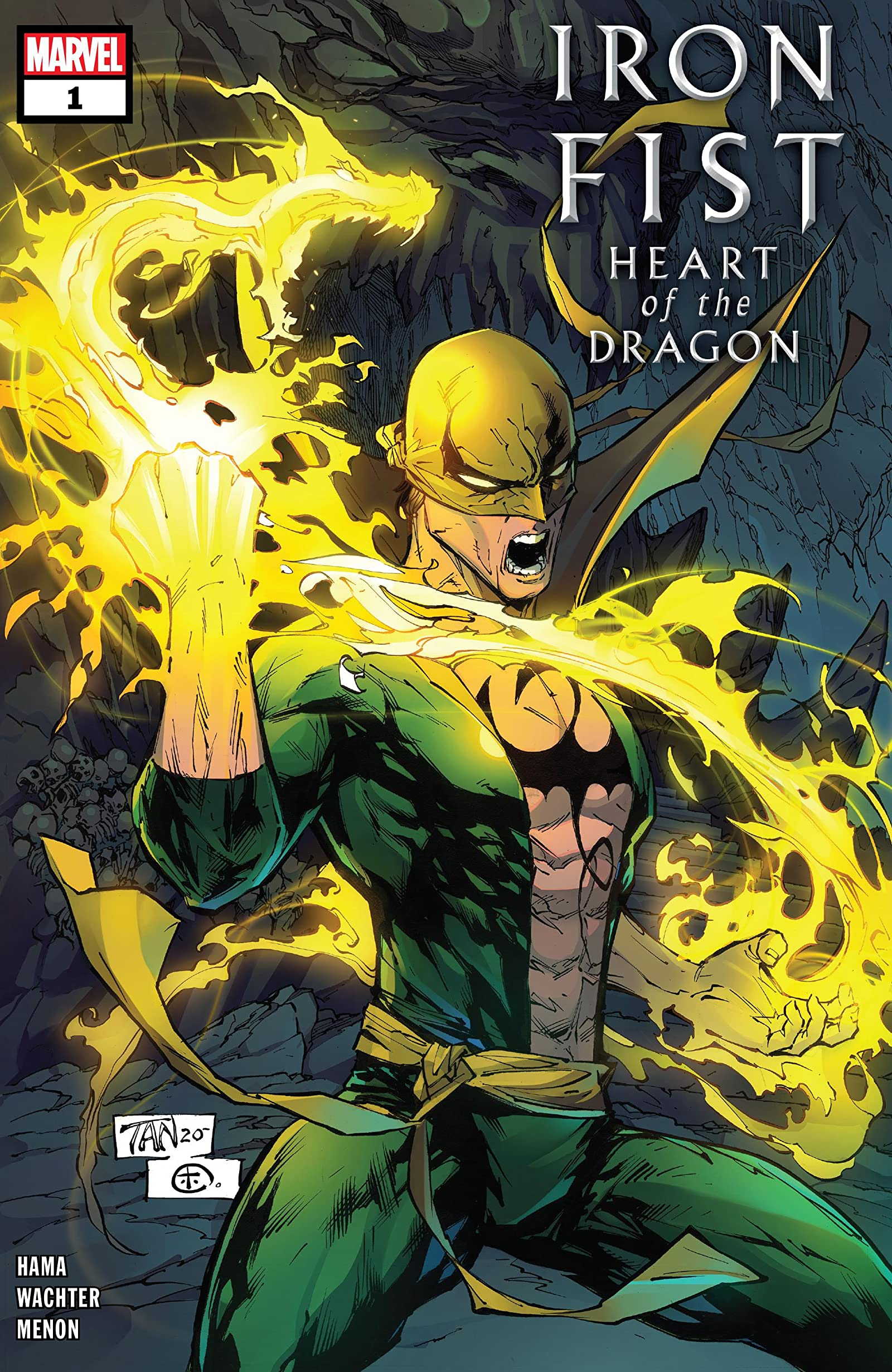 Iron Fist: Heart of the Dragon Vol 1 1