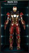 Iron Man Armor MK XVII (Earth-199999)