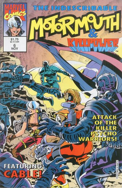 Motormouth & Killpower Vol 1 6