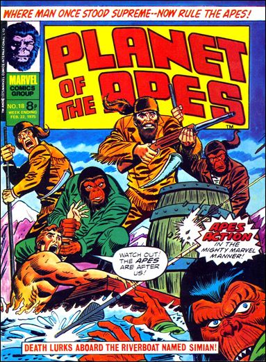 Planet of the Apes (UK) Vol 1 18