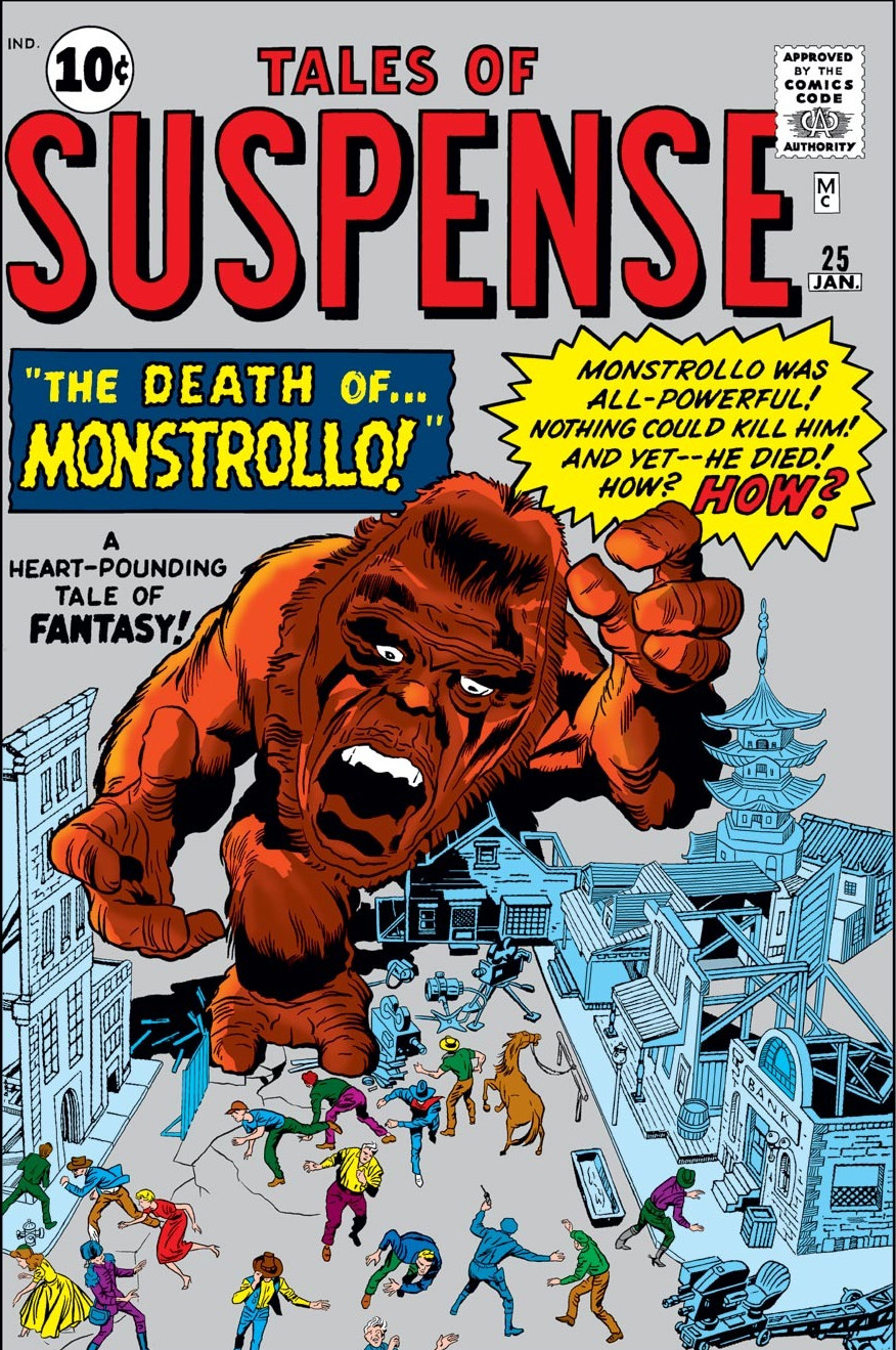 Tales of Suspense Vol 1 25