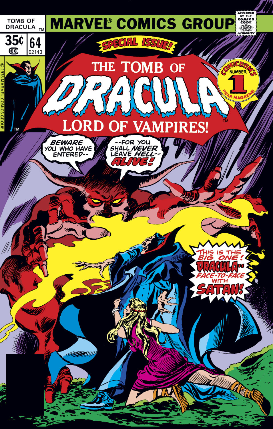 Tomb of Dracula Vol 1 64