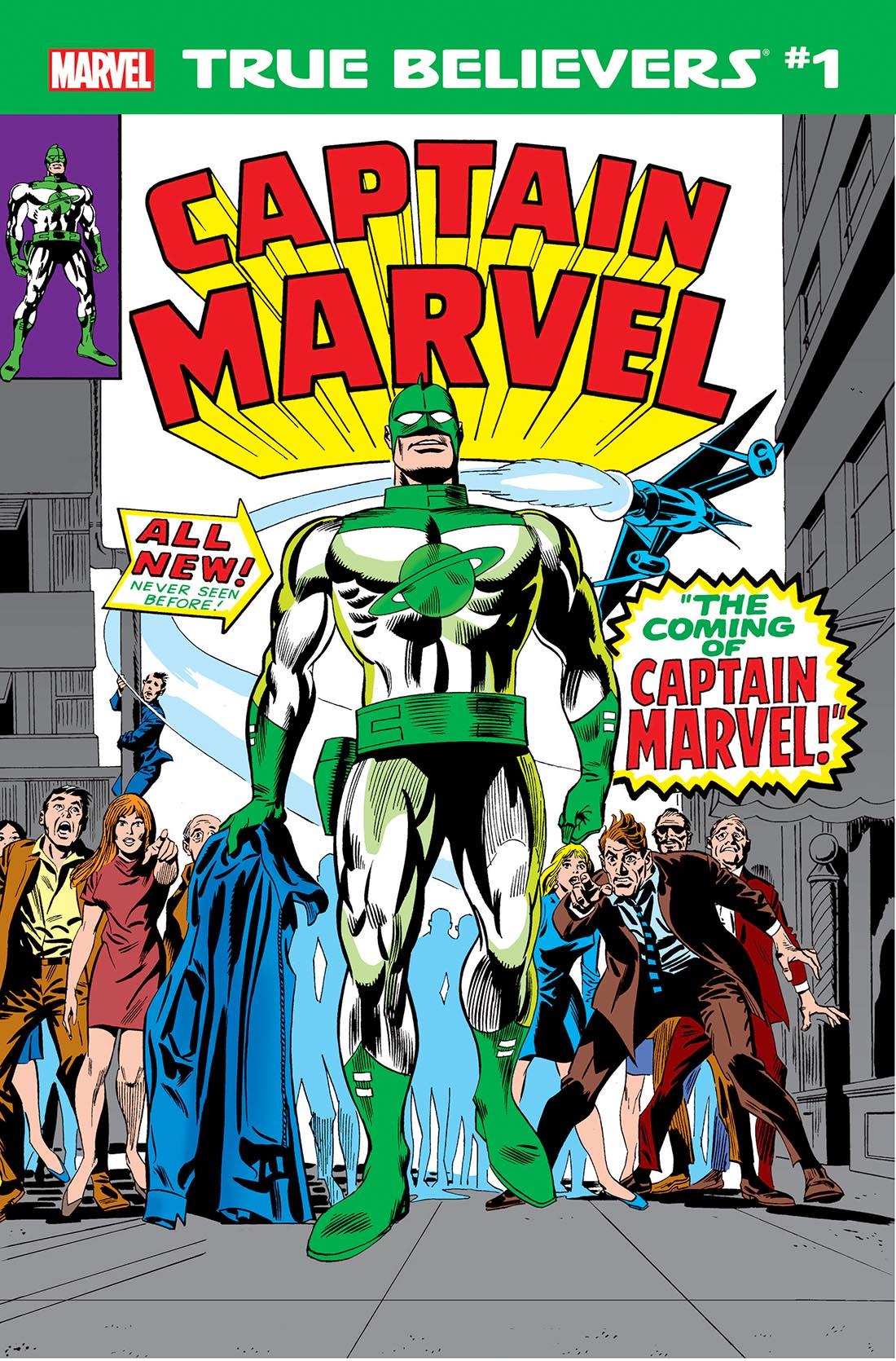 True Believers: Captain Mar-Vell Vol 1 1