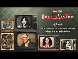 Virtual Launch Event - Marvel Studios' WandaVision - Disney+