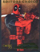 Wade Wilson (Earth-616) from Marvel Creators Collection Cards 001