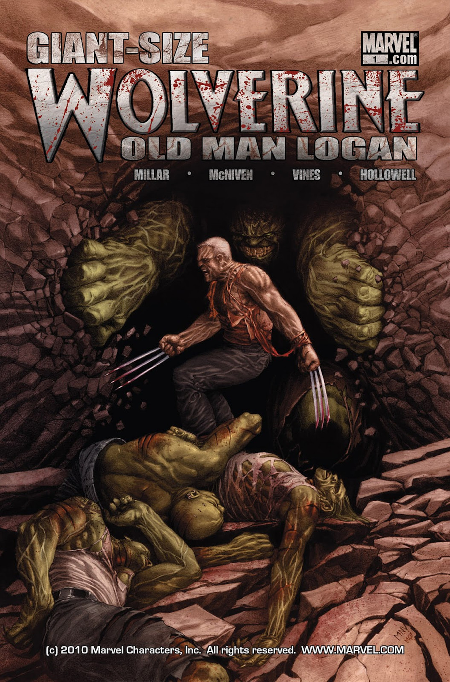 Wolverine: Old Man Logan Giant-Size Vol 1 1