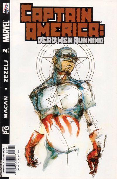 Captain America: Dead Men Running Vol 1 2