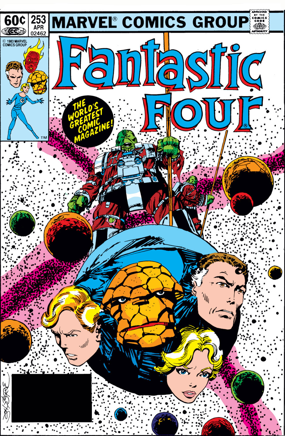 Fantastic Four Vol 1 253