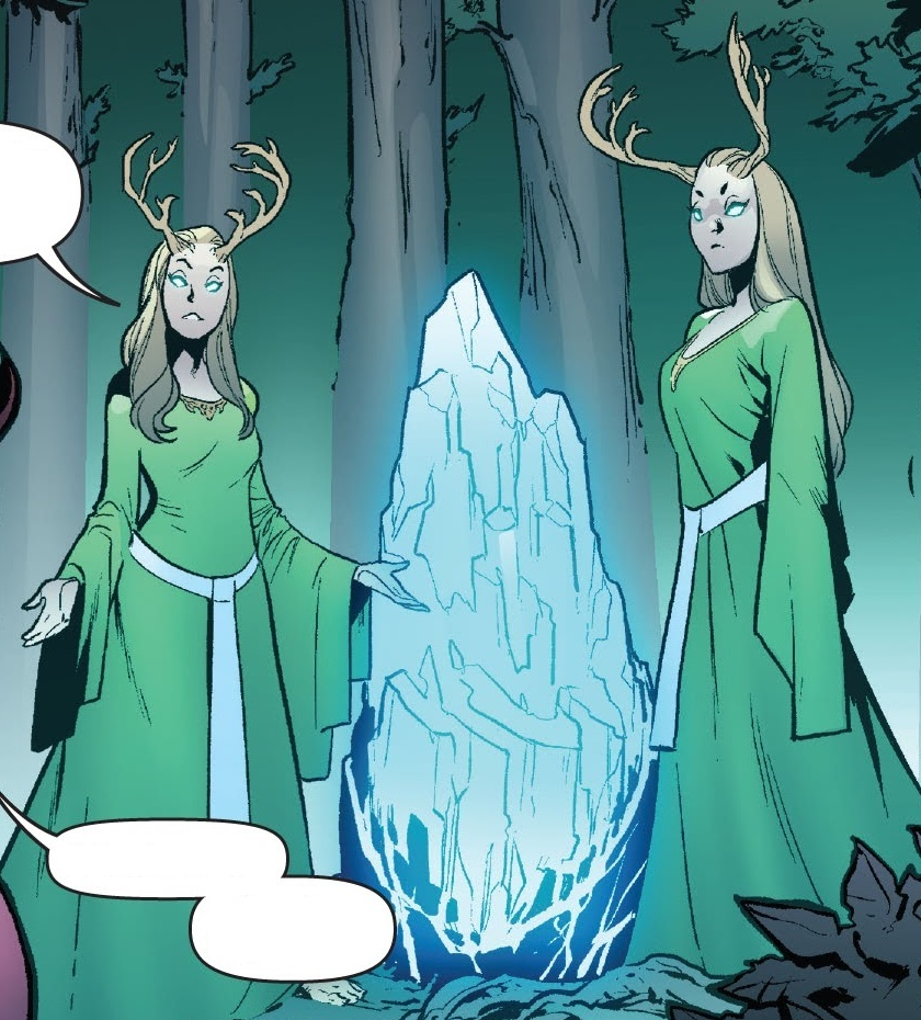 Green Priestesses (Otherworld)/Gallery