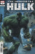 Immortal Hulk Vol 1 1 Crain Variant