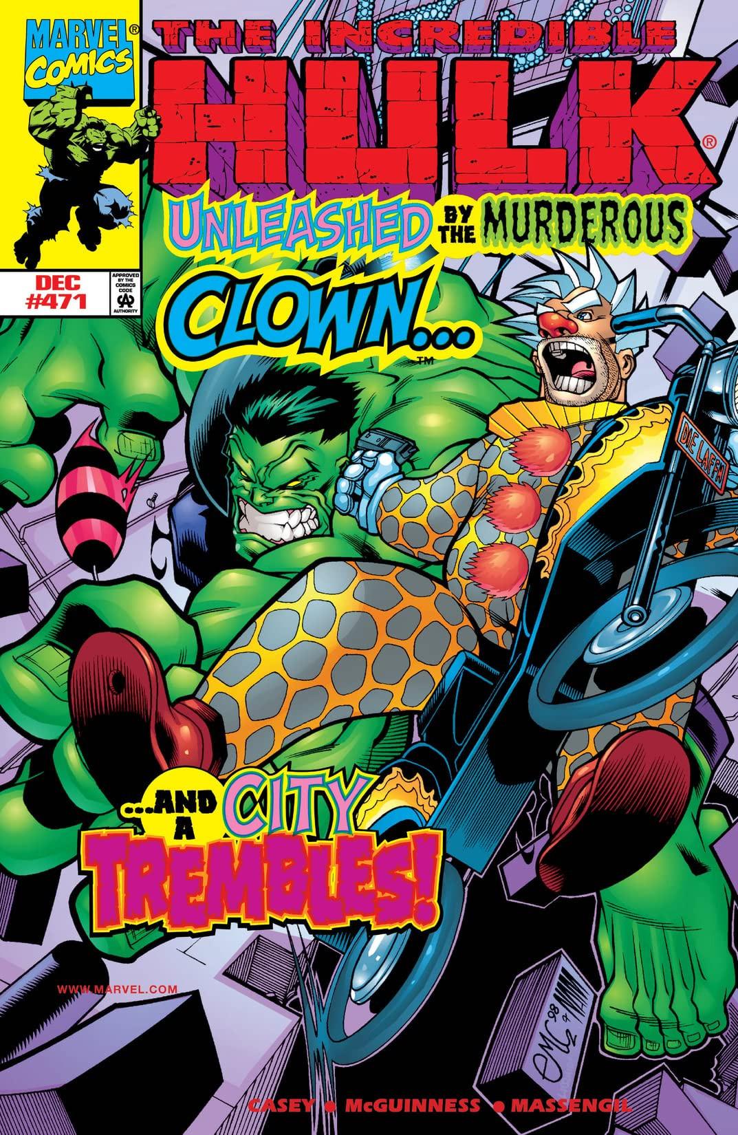 Incredible Hulk Vol 1 471
