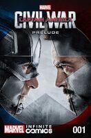 Marvel's Captain America Civil War Prelude Infinite Comic Vol 1 1