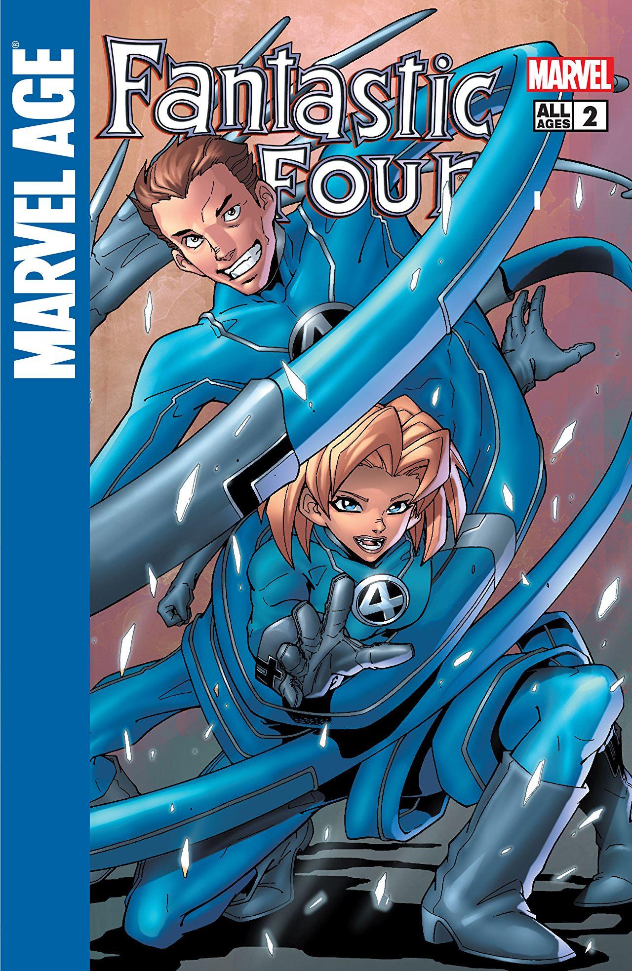 Marvel Age: Fantastic Four Vol 1 2