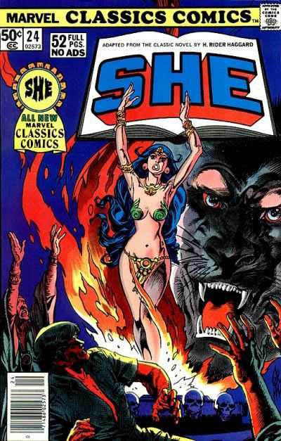 Marvel Classics Comics Series Featuring She Vol 1