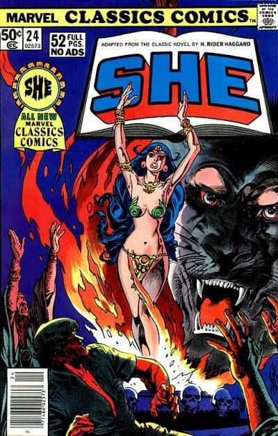 Marvel Classics Comics Series Featuring She Vol 1 1
