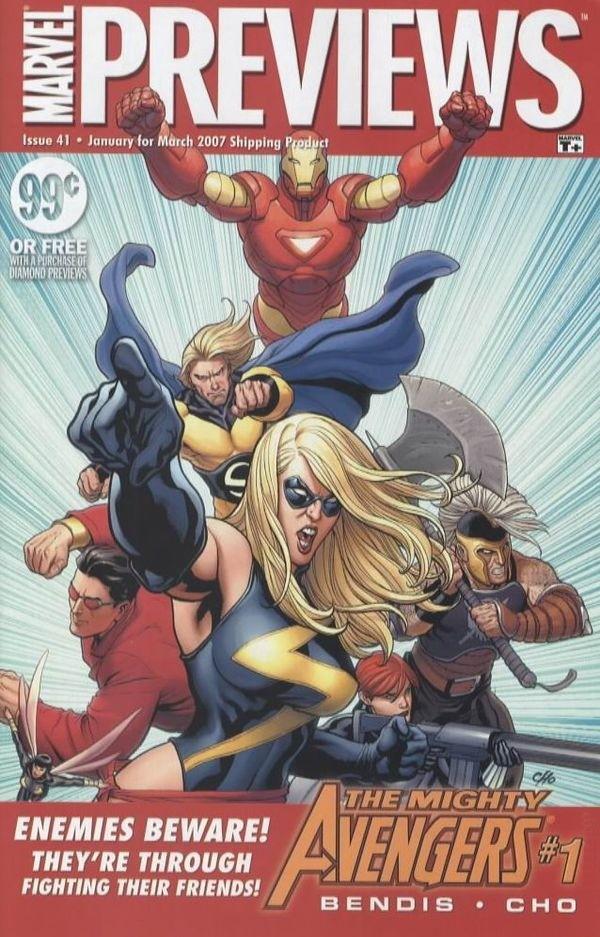 Marvel Previews Vol 1 41
