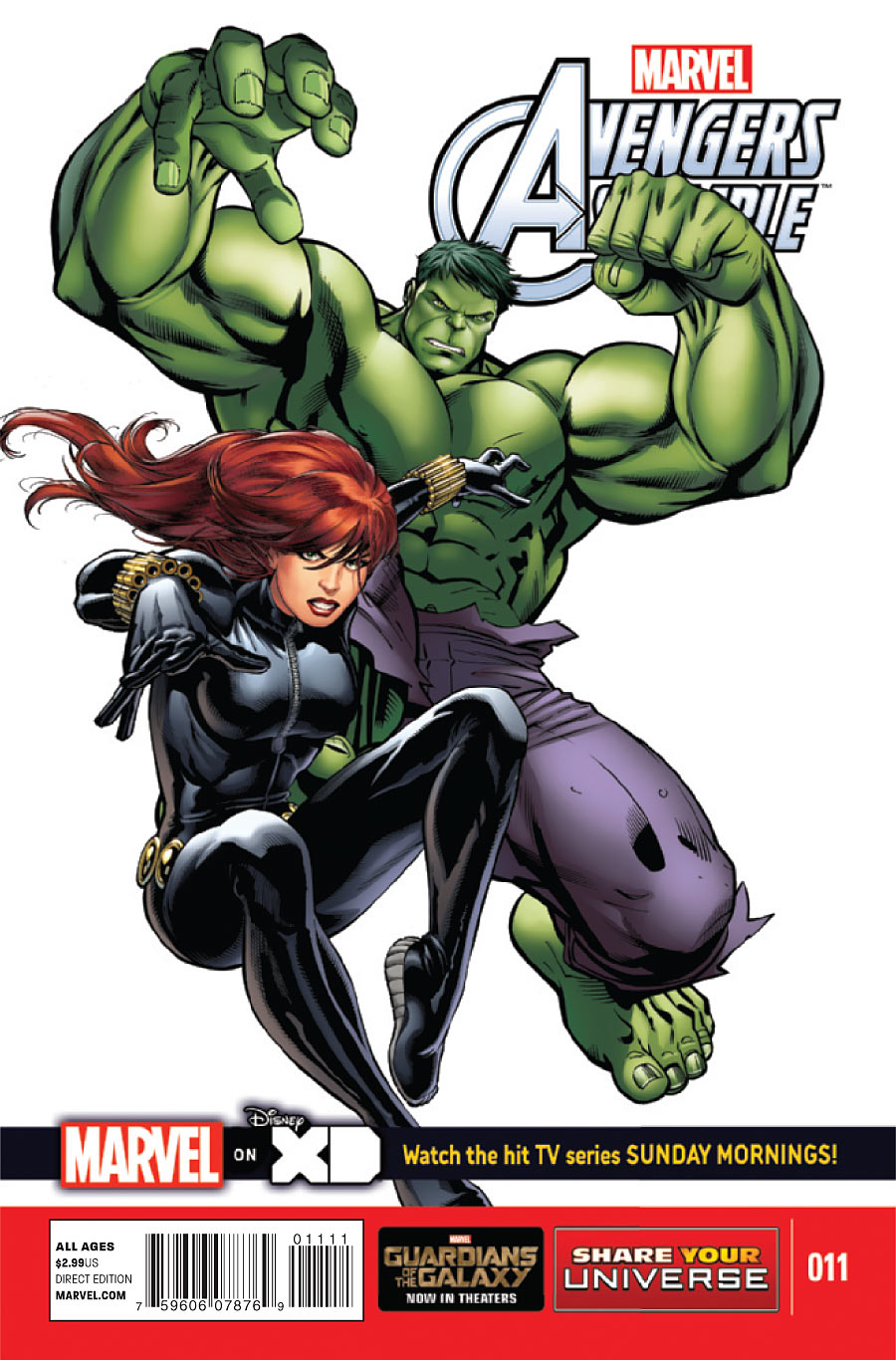 Marvel Universe: Avengers Assemble Vol 1 11