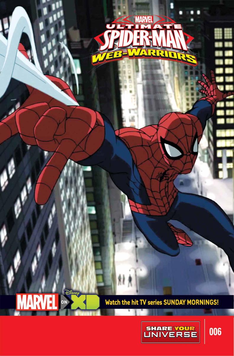 Marvel Universe Ultimate Spider-Man: Web Warriors Vol 1 6