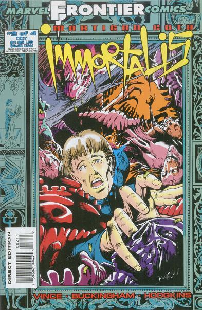 Mortigan Goth: Immortalis Vol 1 2