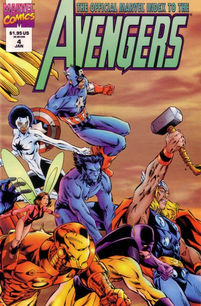 Official Marvel Index to Avengers Vol 2 4