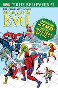 True Believers The Criminally Insane - Masters of Evil Vol 1 1