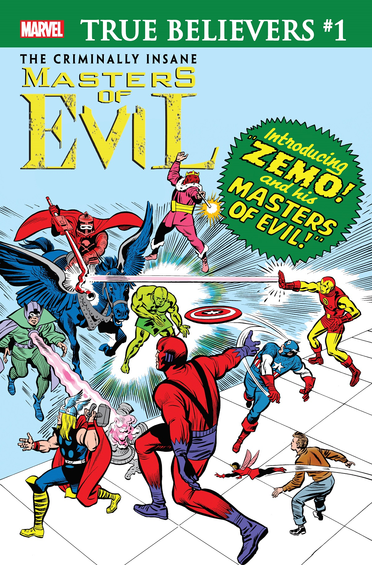True Believers: The Criminally Insane - Masters of Evil Vol 1 1