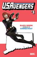 U.S.Avengers Vol 1 1 Connecticut Variant