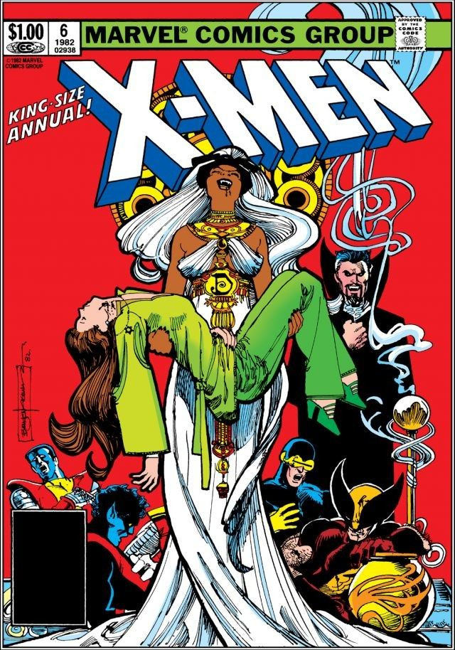 Uncanny X-Men Annual Vol 1 1982