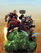 Avengers Vol 5 2 Romita Jr. Variant Textless