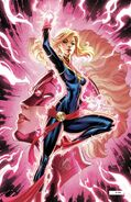 Captain Marvel Vol 10 7 SDCC Exclusive Glow in the Dark Variant