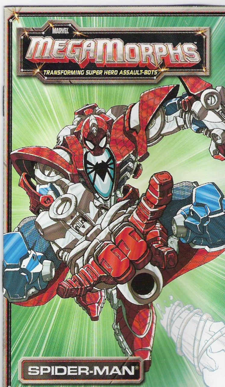 Marvel MegaMorphs: Spider-Man Vol 1 1
