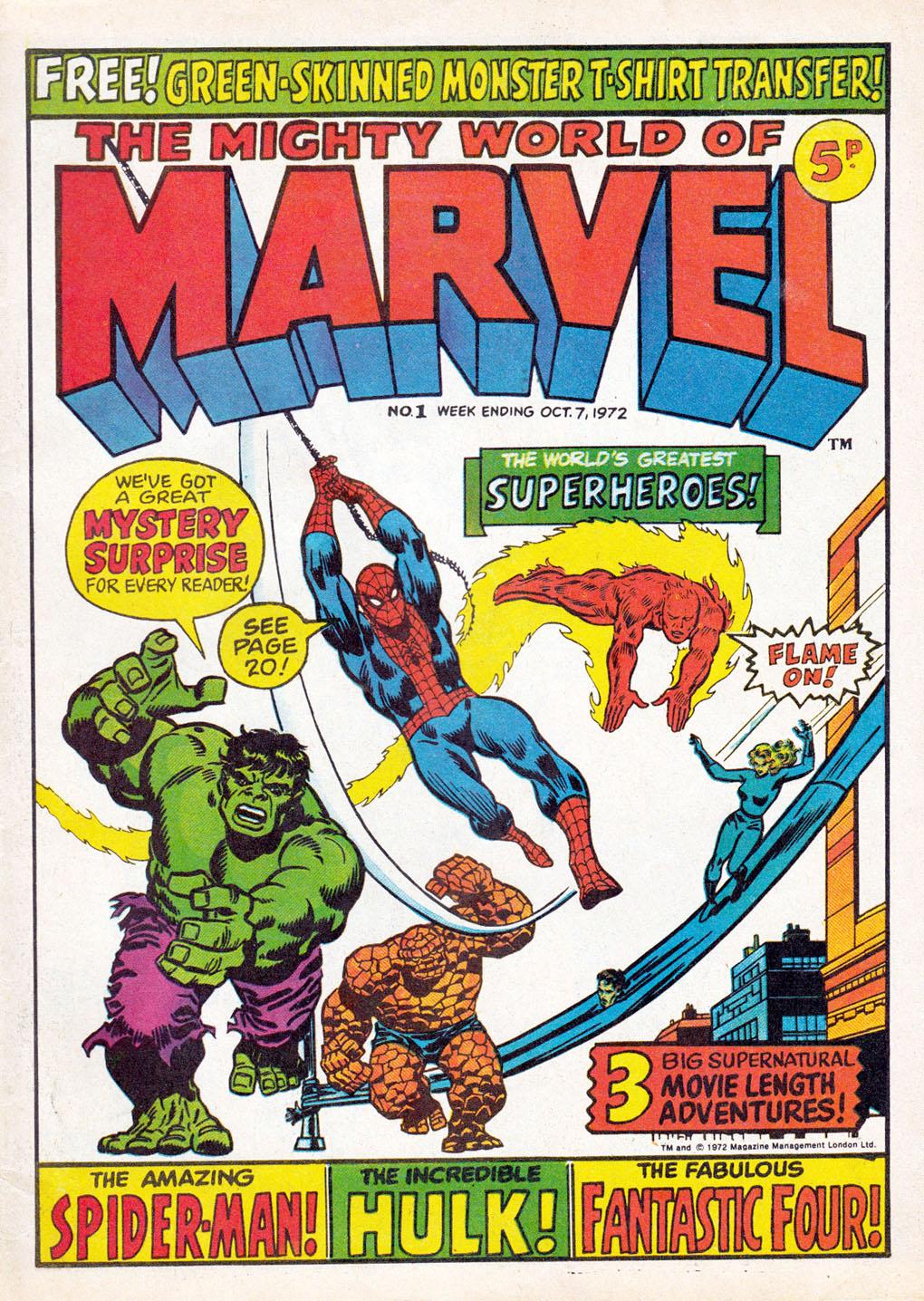Mighty World of Marvel Vol 1