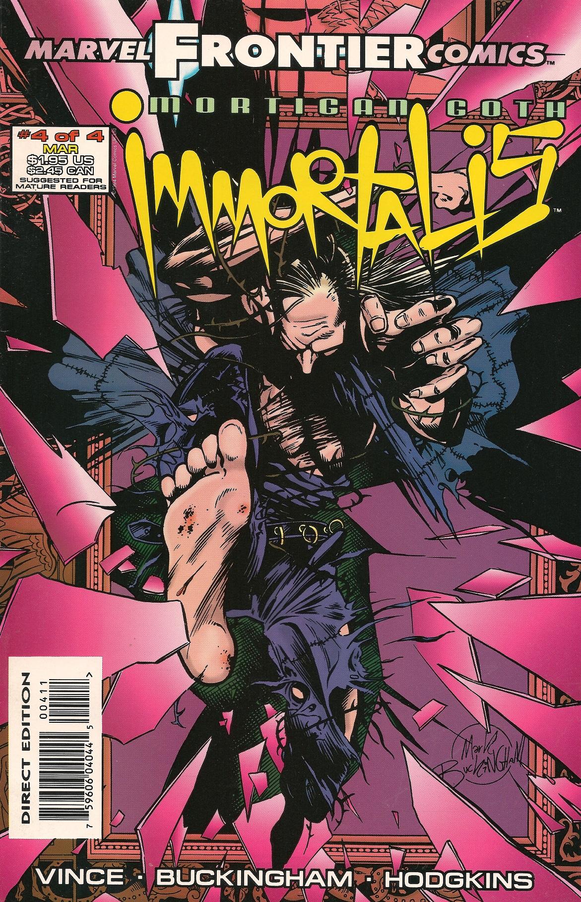 Mortigan Goth: Immortalis Vol 1 4