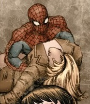 Peter Parker (Earth-21205) and Gwendolyne Stacy (Earth-21205) from Spider-Verse Team-Up Vol 1 2 001.jpg