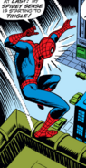 Peter Parker (Earth-616) at the Theatre District from Amazing Spider-Man Vol 1 73 0001