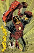 Wade Wilson (Earth-616) as Iron Man from Deadpool Vol 5 7 001