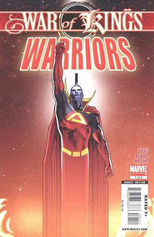 War of Kings Warriors Vol 1 1.jpg
