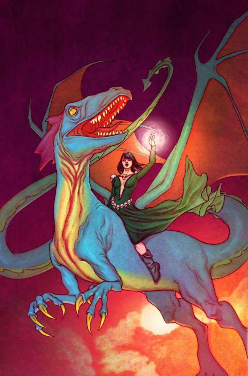 Morgan le Fay's Dragon (Earth-15513)