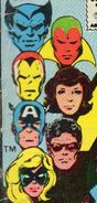 Avengers (Earth-616) from Avengers Vol 1 199 Cover