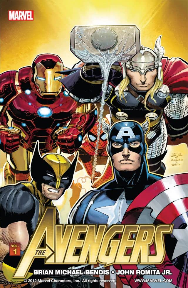 Avengers by Brian Michael Bendis Vol 1