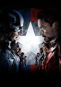 Captain America Civil War Textless poster 014