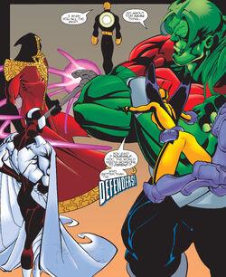 Defenders (Earth-1298) from Mutant X Annual Vol 1 1999 0001.jpg