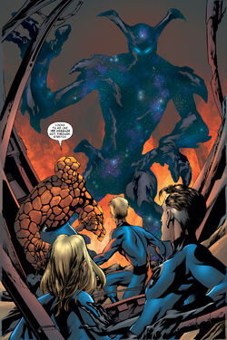 Entity (Earth-616) and Fantastic Four (Earth-616) from Fantastic Four Vol 1 530 001.jpg