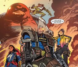 Guardians of the Galaxy (Earth-18138) from Cosmic Ghost Rider Vol 1 2 001.jpg