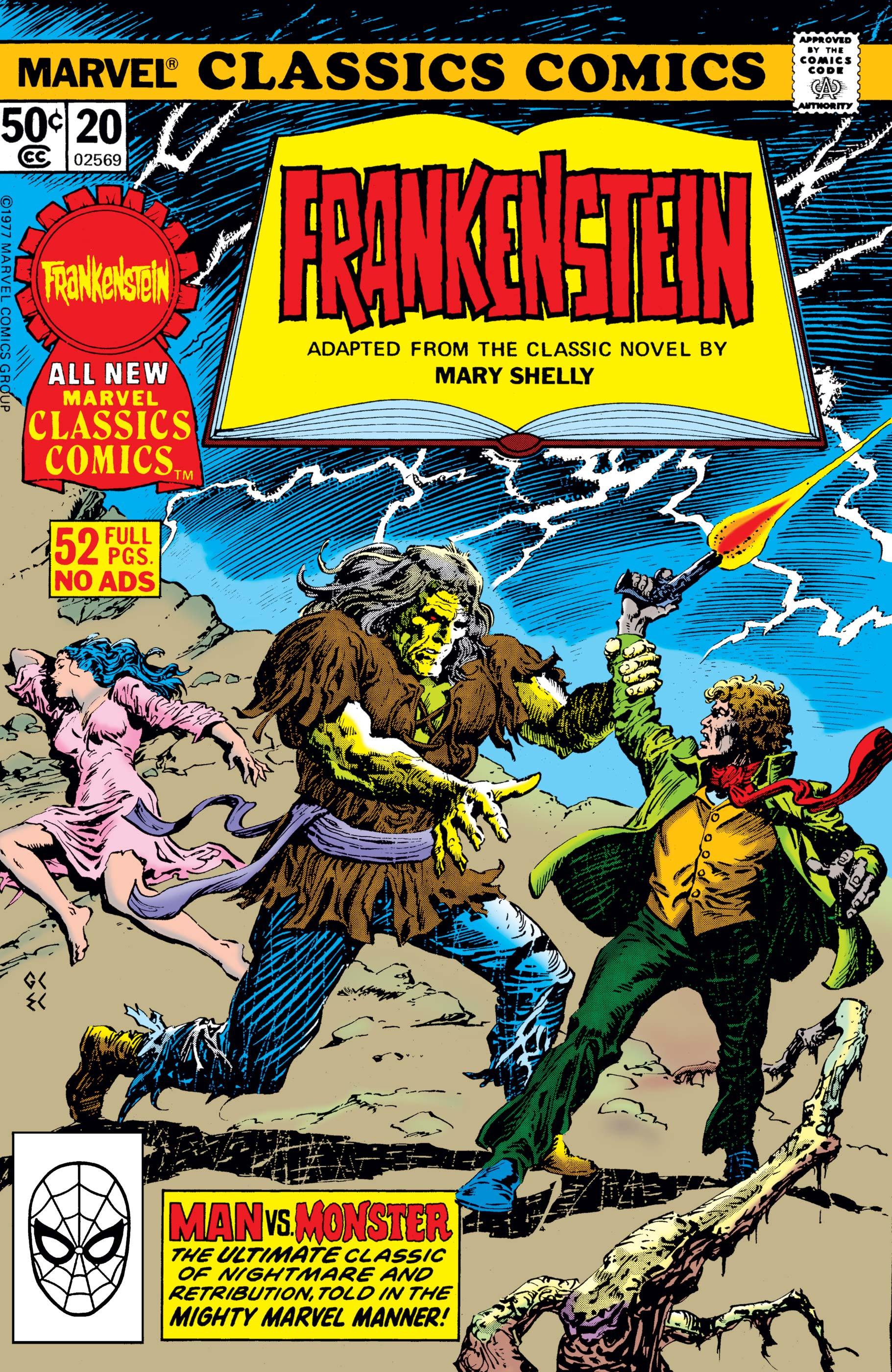 Marvel Classics Comics Series Featuring Frankenstein Vol 1