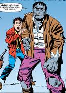 Richard Jones (Earth-616) and Bruce Banner (Earth-616) from Incredible Hulk Vol 1 1 001