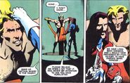 Slaymaster (Earth-616) and Brian Braddock (Earth-616) from Captain Britain Vol 2 3 0001