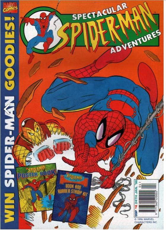 Spectacular Spider-Man (UK) Vol 1 4