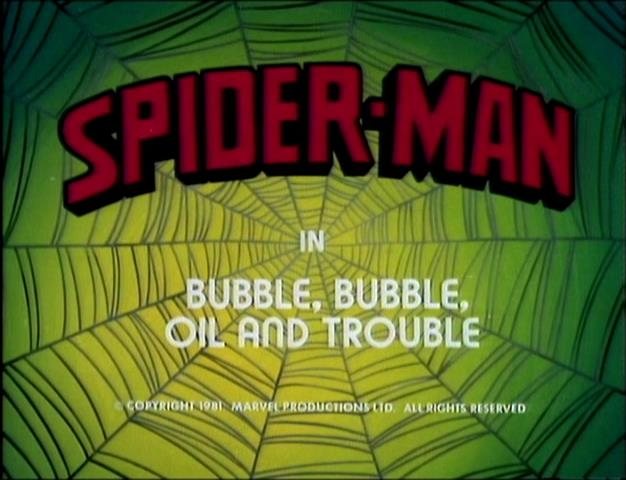 Spider-Man (1981 animated series) Season 1 1