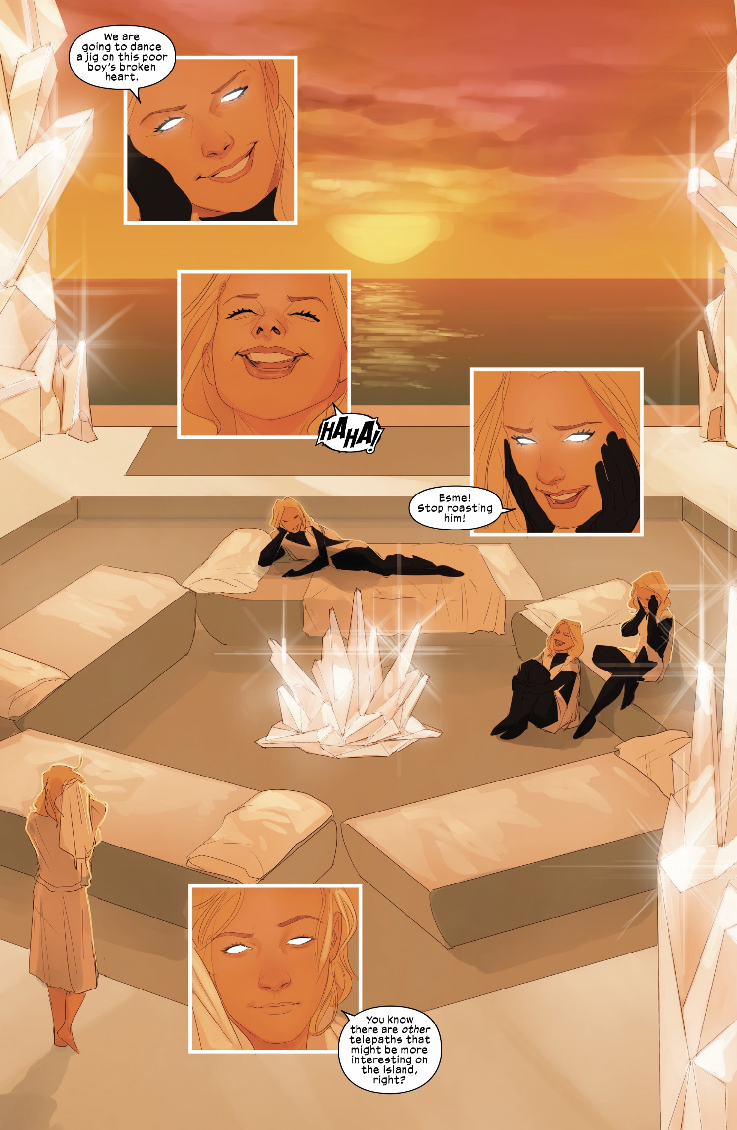 Stepford Cuckoos (Earth-616) in the White Palace from Cable Vol 4 2 001.jpg